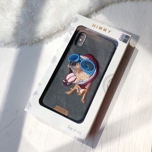 iPhone X/ XS 10 Case - 3D Embroidered Puppy
